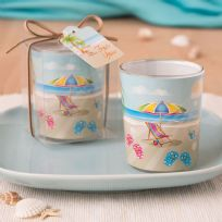 Beach Themed Design Candle Holder